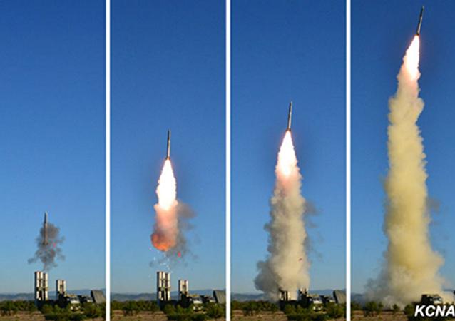 Missili della Corea del Nord (agenzia nordcoreana Kcna)