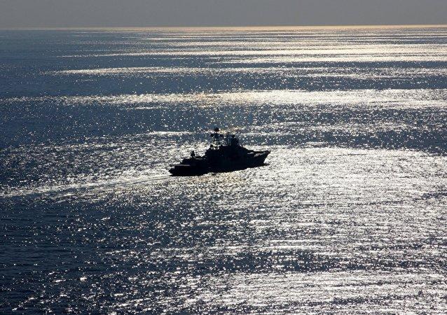 La nave antisommergibile Severomorsk