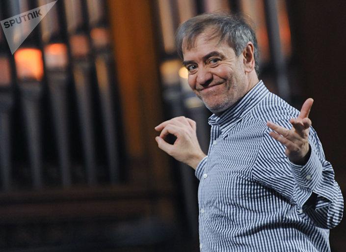 Il direttore artistico del teatro Marinsky Valery Gergiev