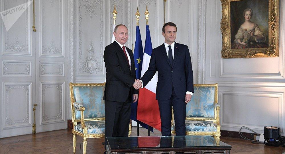 Putin e Macron