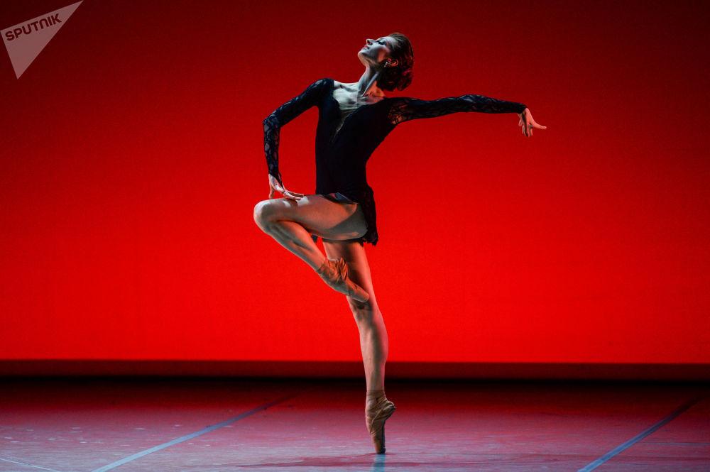 Un concerto gala del balletto russo nel teatro Mikhajlovskij nel quadro della programma culturale dello SPIEF 2017.