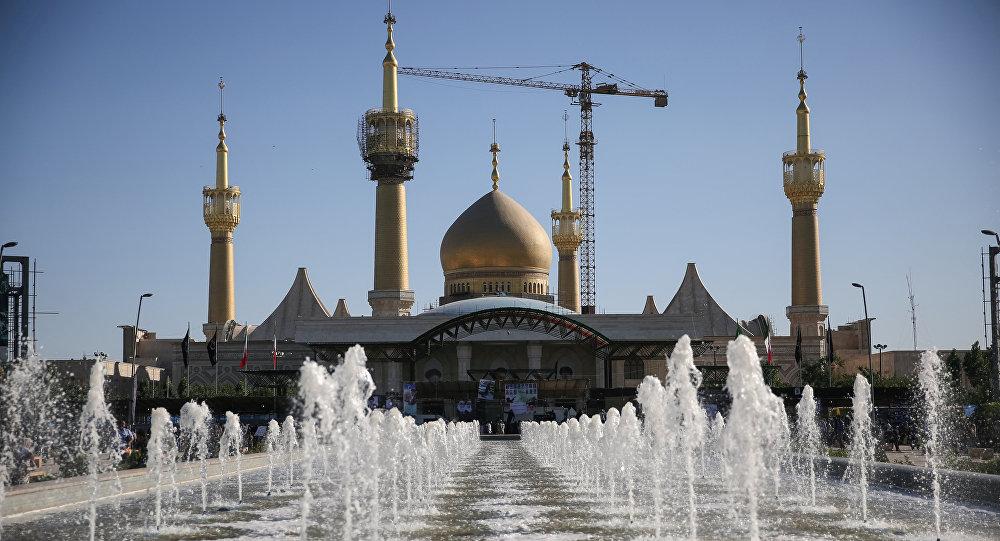 Il mausoleo Imam Khomeini a sud di Teheran.