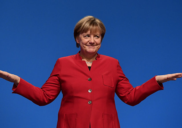 La canceliera della Germania Angela Merkel.