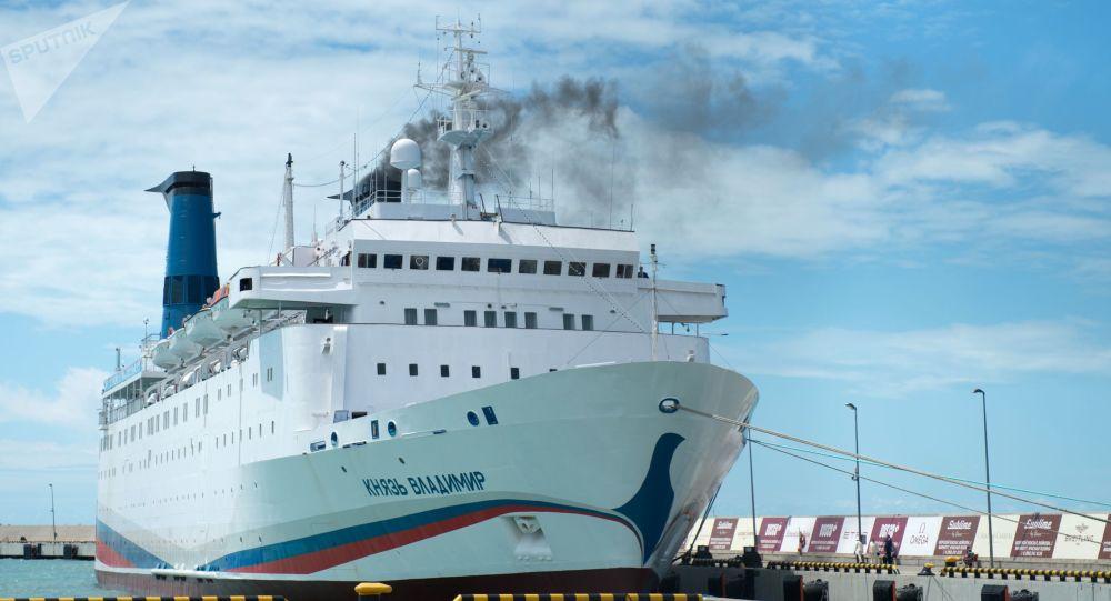 La nave Principe Vladimir