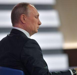 La linea diretta del presidente Putin.