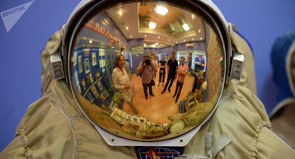 Lo scafandro di un cosmonauta