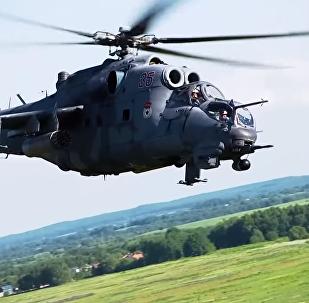 Le esercitazioni della aviazione della Flotta di Baltico