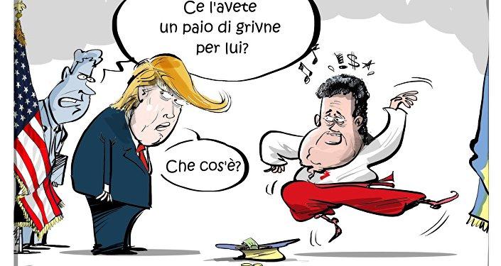 Incontro di Trump e Poroshenko