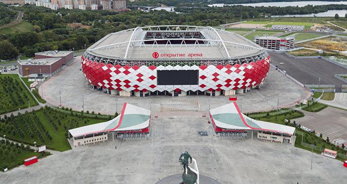 Lo stadio Spartak di Mosca