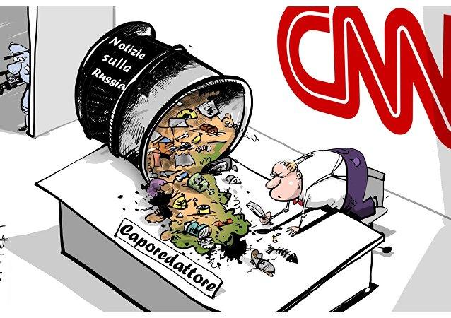 CNN rafforza regole di pubblicazione notizie su Russia.