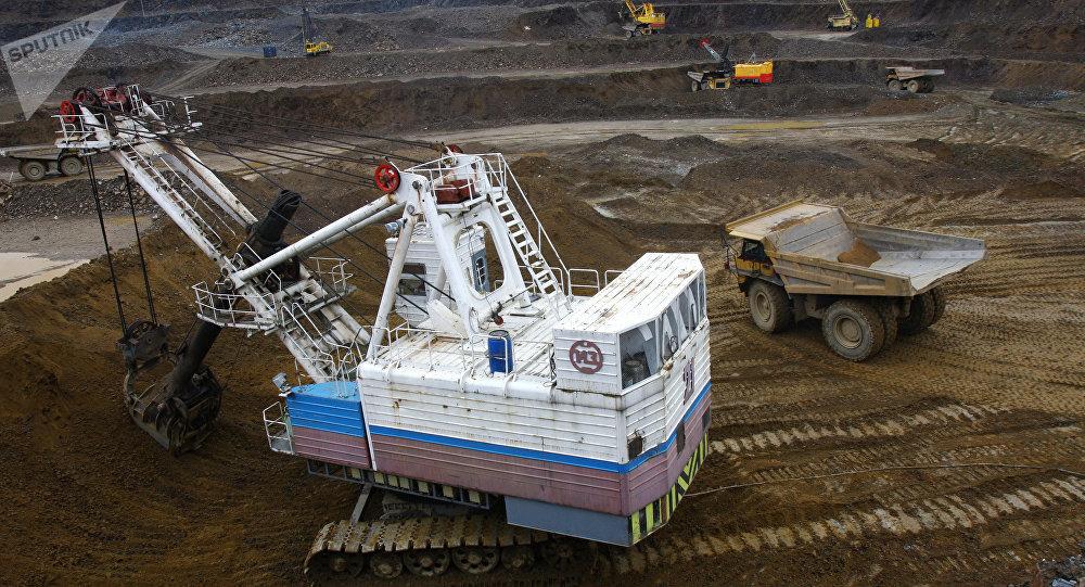 Miniera in Russia