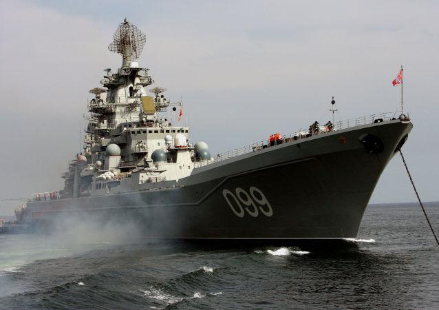 Incrociatore missilistico pesante russo Pietro il Grande