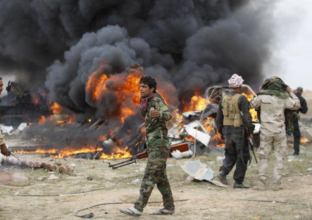 I jihadisti dell'ISIS