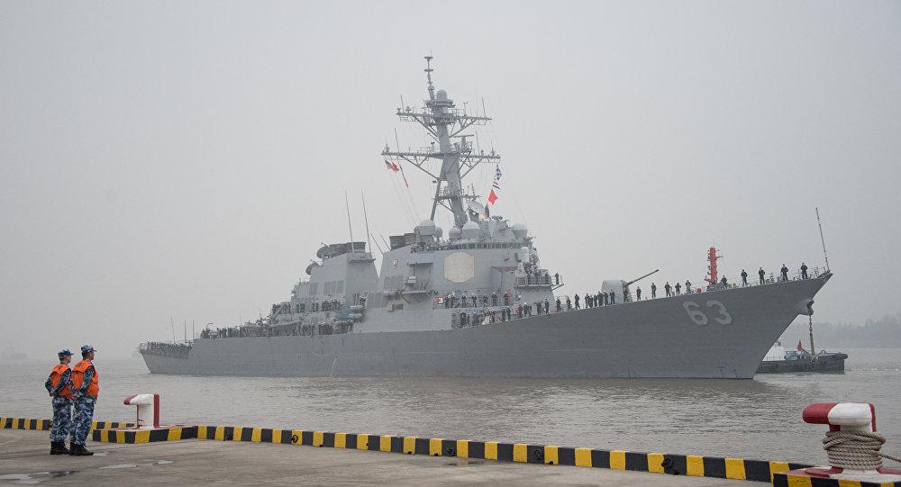 Nave militare usa entra in acque cinesi pechino grave for Acque pure italia opinioni