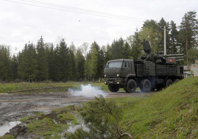 Sistema antiaereo russo Pantsir-S