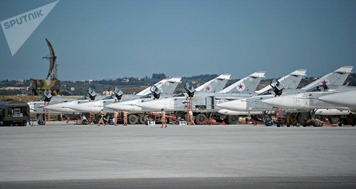 Base aerea russa di Khmeimim in Siria