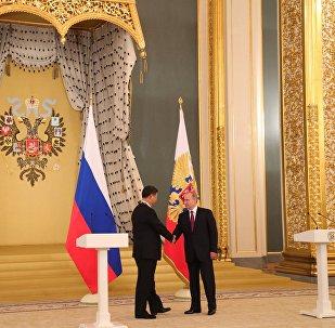 Vladimir Putin e Xi Jinping s'incontrano a Mosca