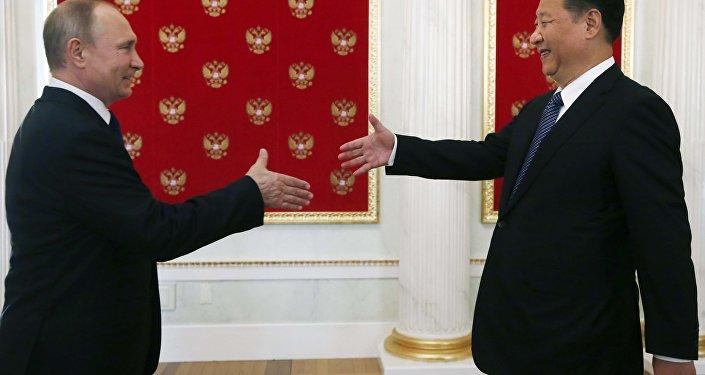 Conferenza stampa tra Vladimir Putin e Xi Jinping a Mosca