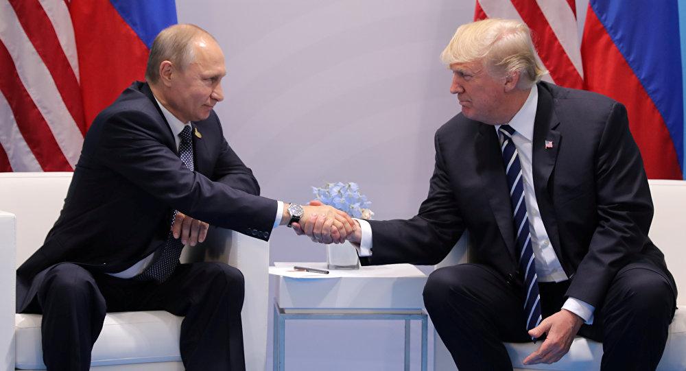 Donald Trump e Vladimir Putin s'incontrano ai margini del vertice G20