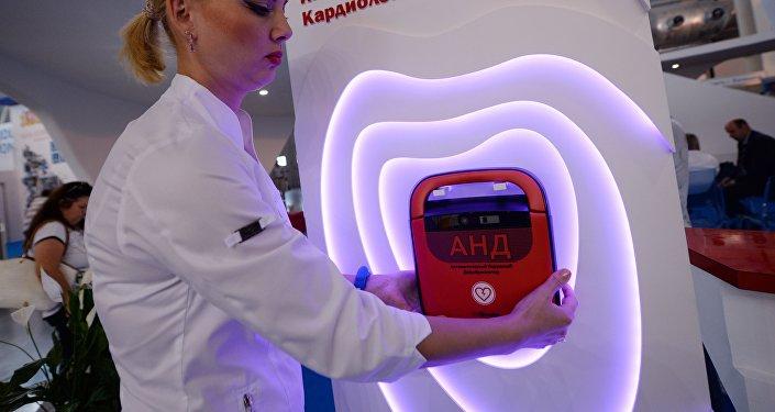 Innovazione e prevenzione allo stand dell'Istituto di Cardiologia degli Urali