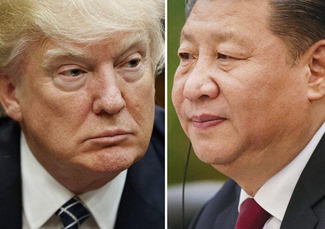 Donald Trump e presidente cinese Xi Jinping