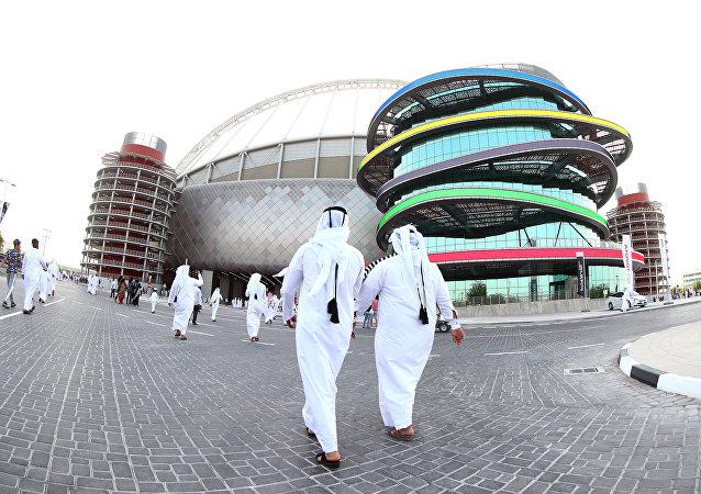 Stadio Khalifa di Doha (foto d'archivio)