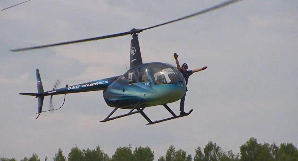 La prima World Cup per elicotteri arriva in Russia
