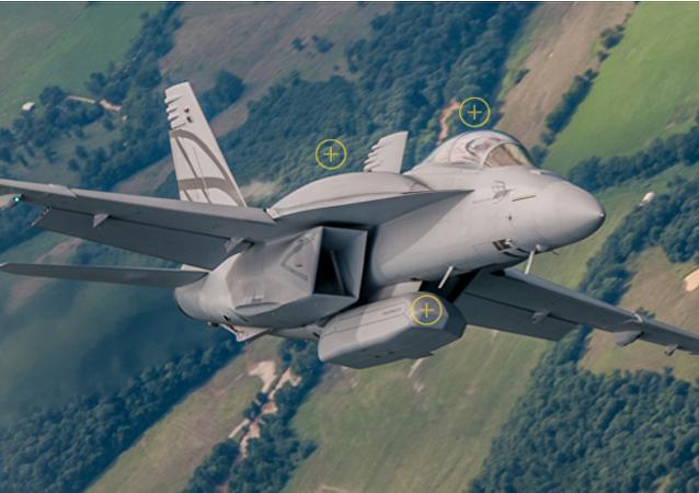 Caccia F-18 (foto d'archivio)