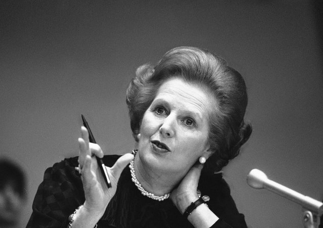 Lady di ferro Margaret Thatcher (foto d'archivio)