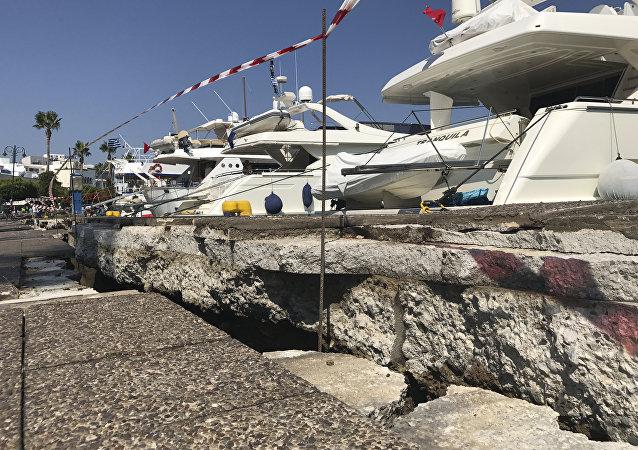 Conseguenze del terremoto sull'isola di Coo
