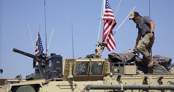 Mezzi militari americani in Siria