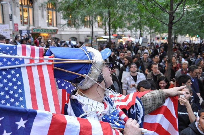 Manifestazione del movimento Occupy Wall Street