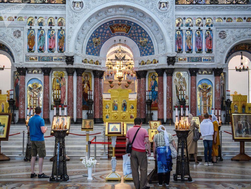 La cattedrale navale di San Nicola a Kronstadt