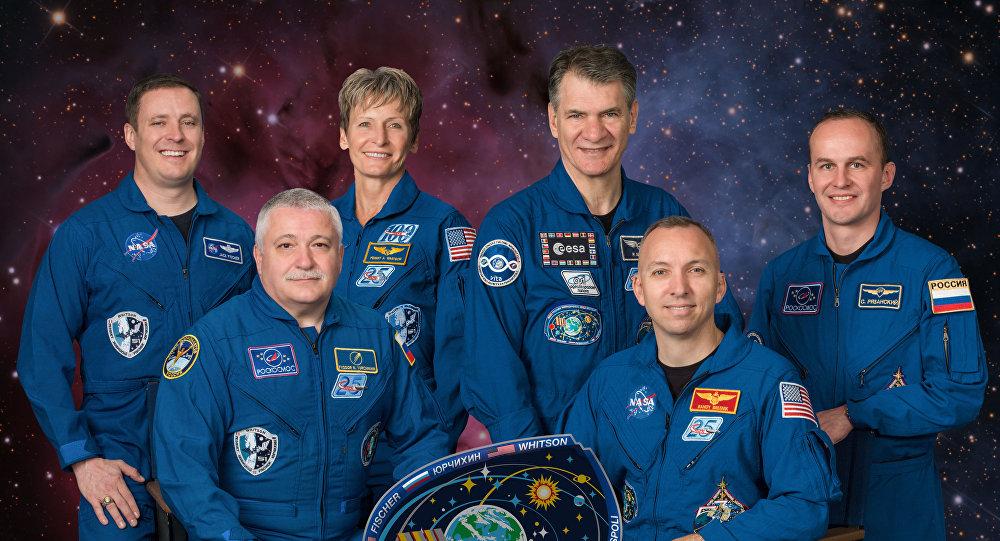 L'equipaggio delle spedizioni 52-53 sulla Stazione Spaziale Internazionale