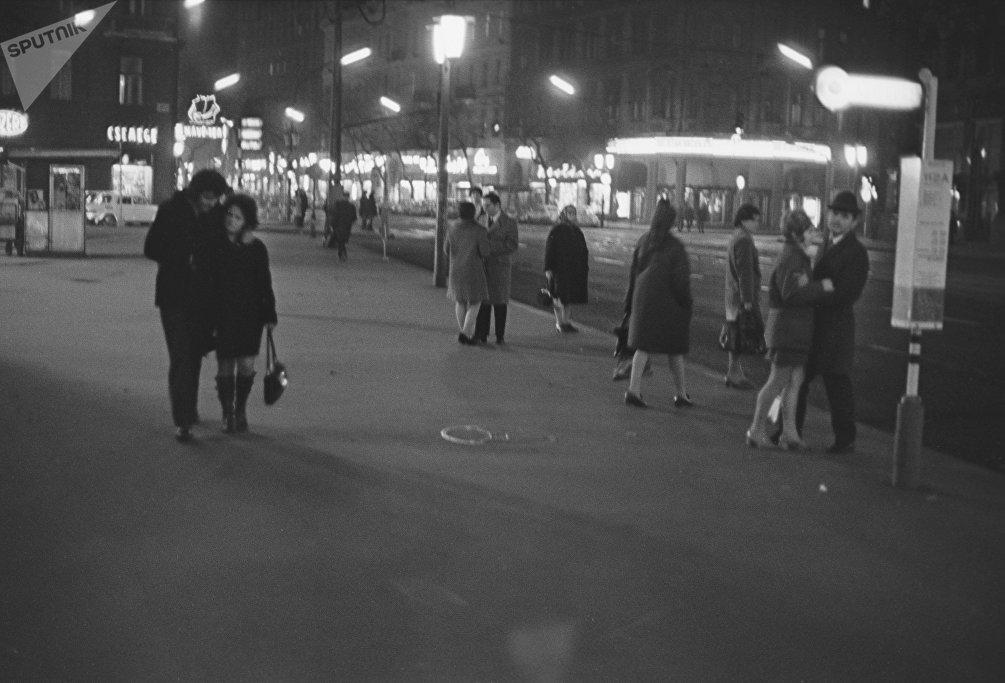Budapest by night, anni '80