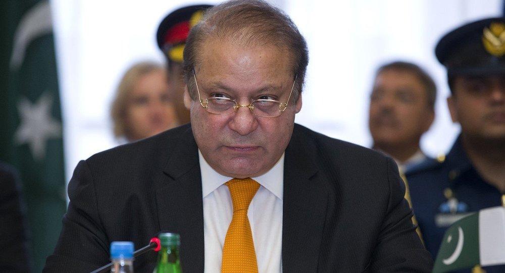Il primo ministro pakistano Nawaz Sharif