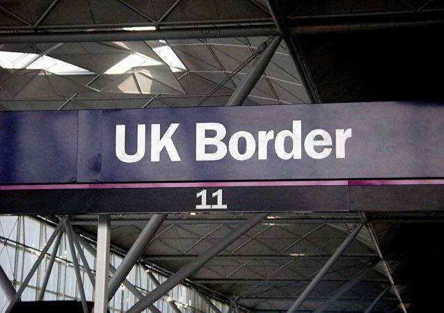 Frontiera Regno Unito