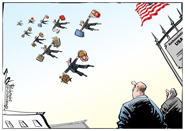 Espulsione diplomatici USA dalla Russia