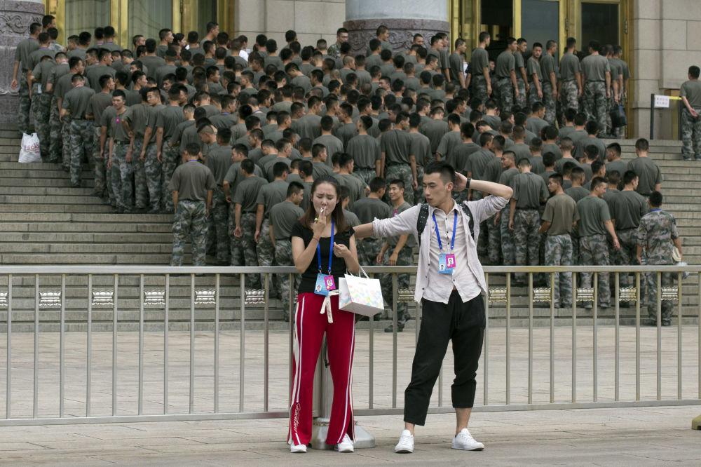 I 90 anni dell'Esercito di Liberazione del Popolo cinese