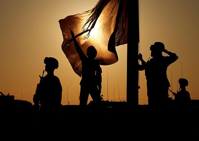 Soldati dell'esercito cinese