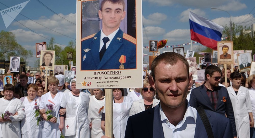 Toscana, l'inaugurazione del monumento dedicato al soldato russo morto a Palmira