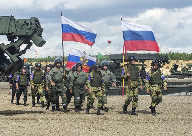 Russia in testa nei Giochi Militari