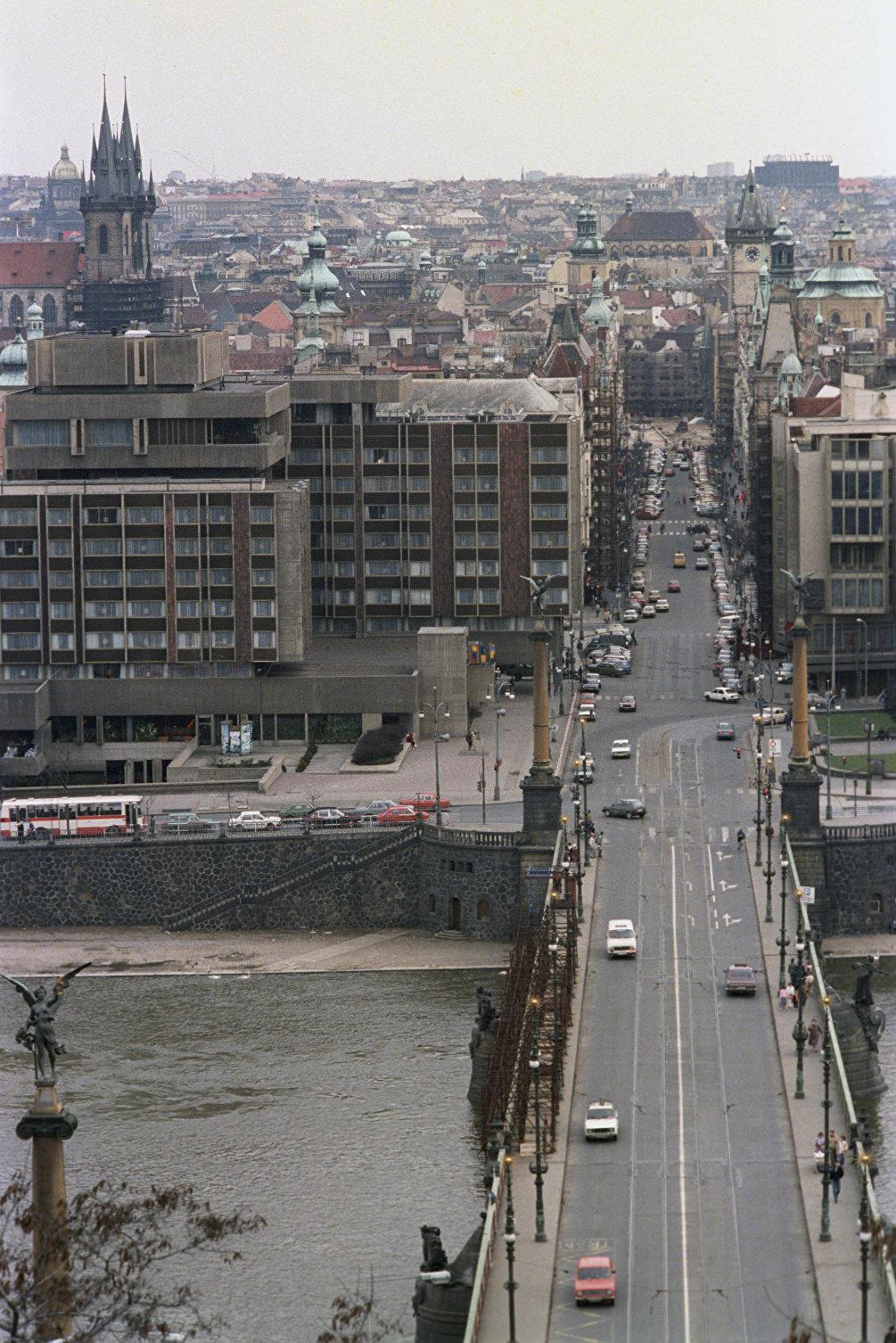 Veduta di Praga, 1988