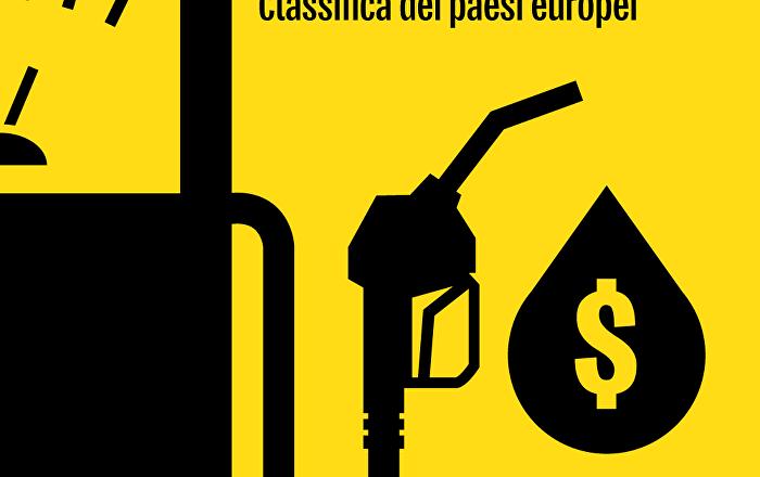 Classifica dei costi della benzina nei Paesi europei