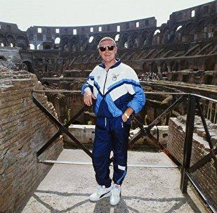 Gasgoigne al Colosseo