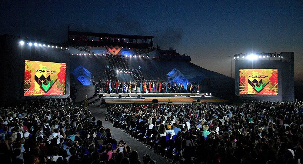 Cerimonia di chiusura dei Giochi Militari 2017