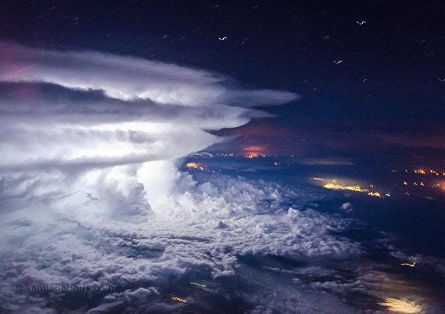 I temporali visti dagli occhi del pilota