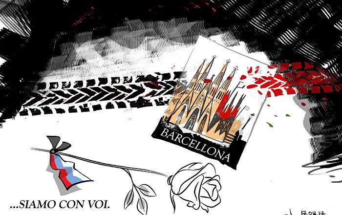Cordoglio alla Spagna