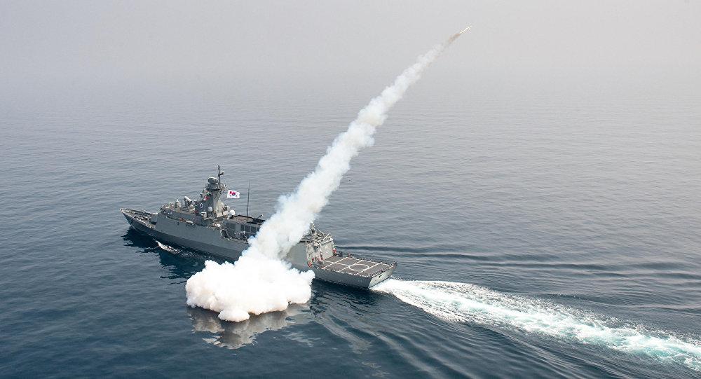 Nave militare sudcoreana