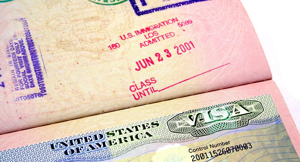 Visto d'ingresso per gli Stati Uniti